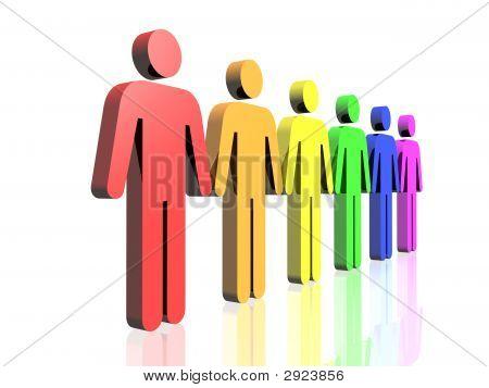 Gay Men Flag Side