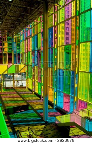 Colorful Hall