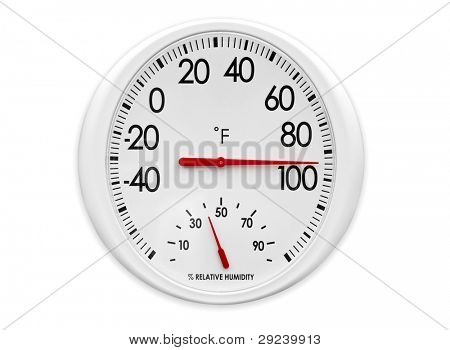Outdoor Thermometer/Hygrometer