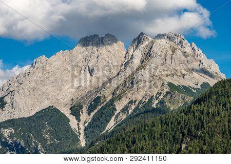 Mieming Range Or Mieminger Mountains. Northern Limestone Alps, Tyrol State, Austria, Europe