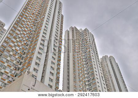 Residential District In Tsuen Wan, March 2019