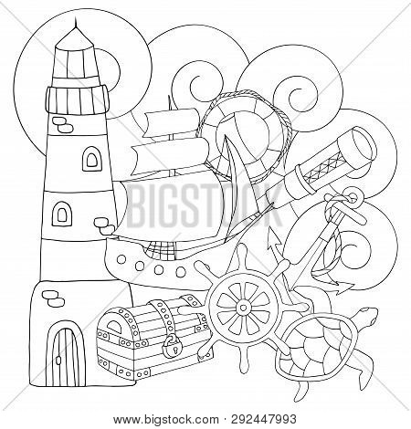 Abstract Coloring Vector Photo Free Trial Bigstock