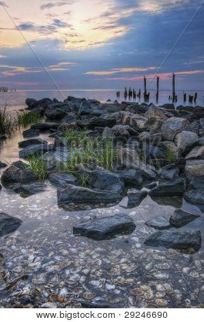Sunrise On Delaware Bay