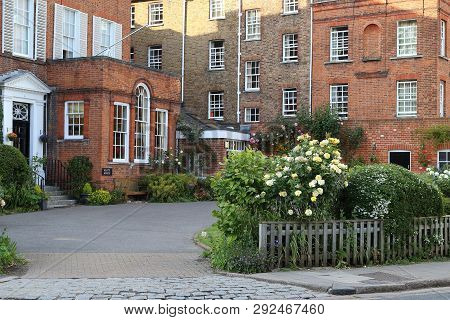 Eton, Great Britain - May 19, 2014: Keat House Is One Of The Buildings Of The Complex Of Buildings O