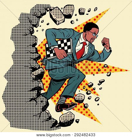 African Chess Grandmaster Breaks A Wall, Destroys Stereotypes. Moving Forward, Personal Development.