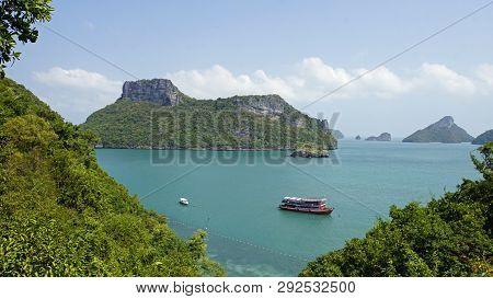 Beach View From Ko Mae Koh Viewpoint