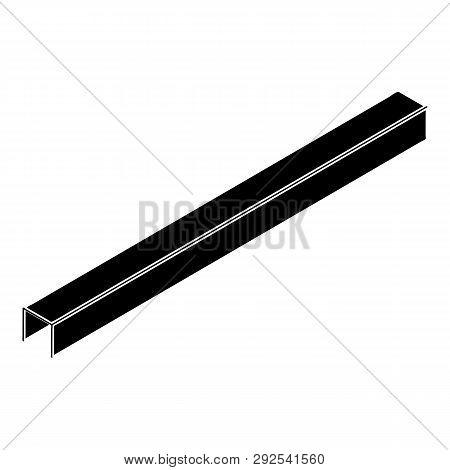 Steal Beam Icon. Simple Illustration Of Steal Beam Icon For Web Design Isolated On White Background