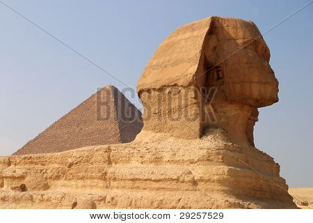 Egypt Cairo Giza Sphinx
