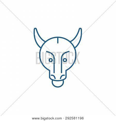 Bullish Trend Line Icon Concept. Bullish Trend Flat  Vector Symbol, Sign, Outline Illustration.