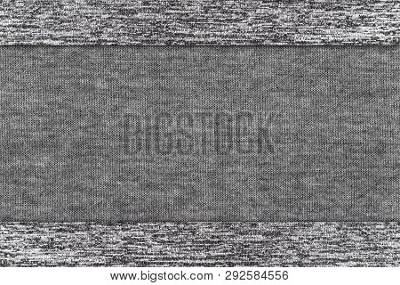 Cotton Fabric Texture Or Cotton Fabric Background. Gray Colors Fabric Cotton. Natural Fabric. Fabric