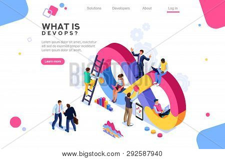 Programmer, User Administrator, Professional Engine. Software Support To Build Banner Infographic. A