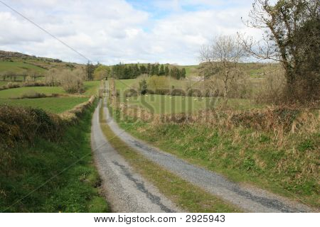 Rural Irish Road