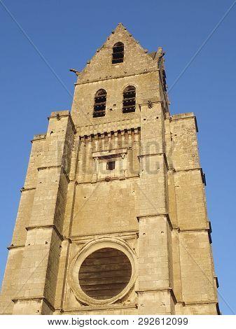 Saint Martin Church In Etampes, Essonne, France