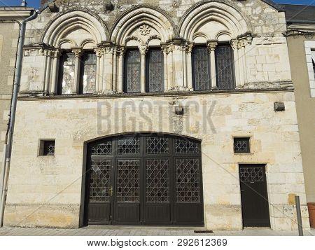 Church In Saint-benoît-sur-loire, Loiret, Centre-val De Loire, France