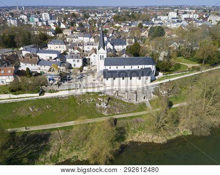 View Of La Chapelle-saint-mesmin, Loiret, Centre-val De Loire, France