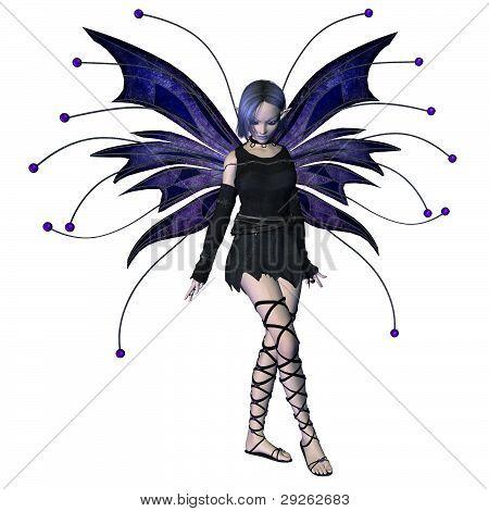 Winter Goth Fairy