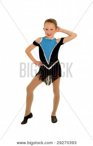 Jazz Dancer Girl With Attitude