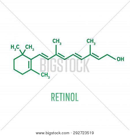 Retinol True Vitamin A , Formula C20h30o - Fat-soluble Vitamin, Antioxidant. Essential For Vision An
