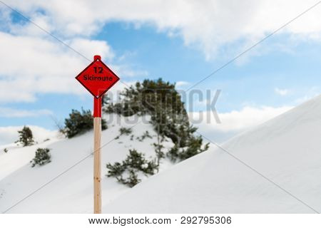 Stock Picture Of Ski Vacation Related Objects