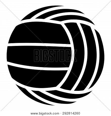 Modern Volleyball Icon. Simple Illustration Of Modern Volleyball Icon For Web