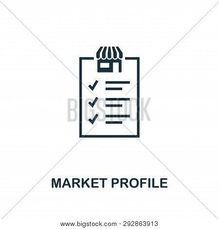 Market Profile Icon  Vector & Photo (Free Trial) | Bigstock