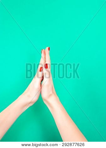 The Thank You Praying Hands Hand Sign. Say Thank You With Your Hands By Mimicking The Praying Hands