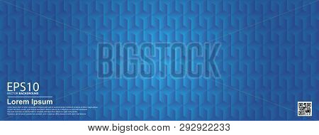 The Abstract Geometric Seamless Colorful Pattern Background.