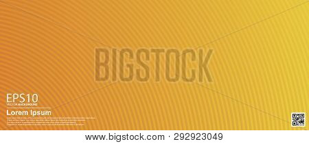 Abstract Vector Geometric Colorful Pattern Background. Orange / Poster, Banner Template.
