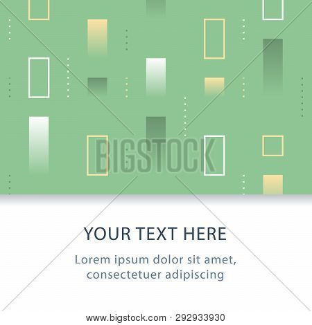 Abstract Geometric Background, Subtle Pattern, Graphic Design, Decoration Header, Creative Patchy Ba