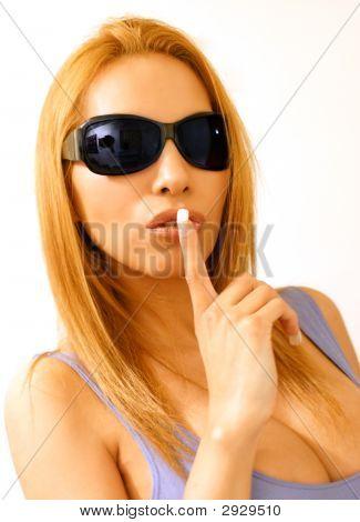 Sshh Woman