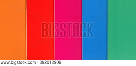Multicolor Paper Bar Texture Background
