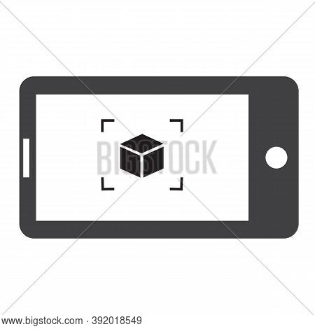Ar Presentation Icon On White Background. Augmented Reality Sign. Ar Presentation Concept Symbol.