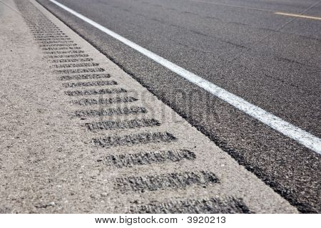 Roadway Shoulder Rumble Strips