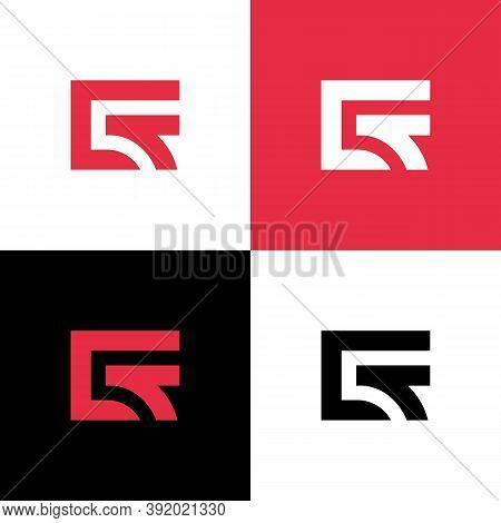 Ct Letter Logo Concept, Minimal Monogram Design - Vector