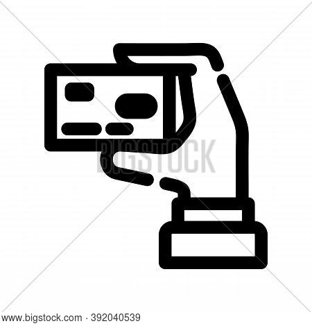 Credit Card Icon Isolated On White Background From Supermarket Collection. Credit Card Icon Trendy A