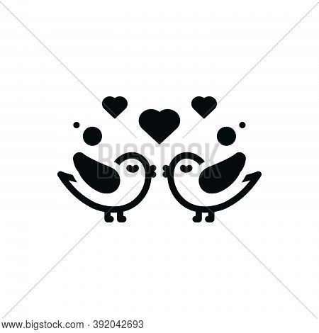 Black Solid Icon For Propose Valentines-day Couple Put-forward Kneel Love Lover Celebration Dating A