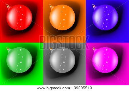 Different Christmas Balls