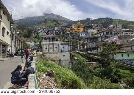 Nepal Van Java Is A Rural Tour On The Slopes Of Mount Sumbing, Central Java.