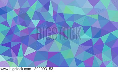 Low Poly Triangular Modern Geometric Background. For Your Flayer, Brochure, Poster Background. Trian