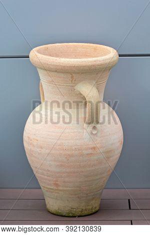 Big Jug Pottery Earthware Ceramic For Garden Terrace
