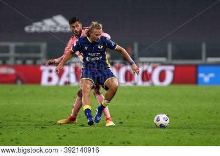 Torino, Italy. 25th October 2020. Antonin Barak Of Hellas Verona Fc In Action During The Serie A Mat
