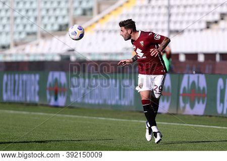 Torino, 28th October 2020. Nicola Murru Of Torino Fc In Action   During The Coppa Italia Match  Betw