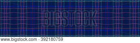 Seamless Plaid Texture. Red Picnic Pattern. Celtic Kilt. Hipster Buffalo Blanket. Simple Plaid Textu