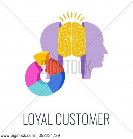 Loyal Consumer. Regular Customer. Recurring Purchases. Target Audience. Flat Vector Illustration