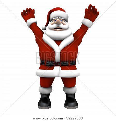 Cartoon Santa