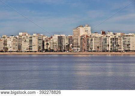 Montevideo, Uruguay - 01 May 2016: The Marina In Montevideo, Uruguay