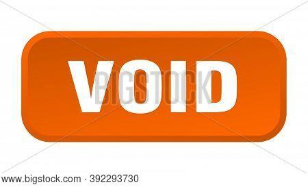 Void Button. Void Square 3d Push Button