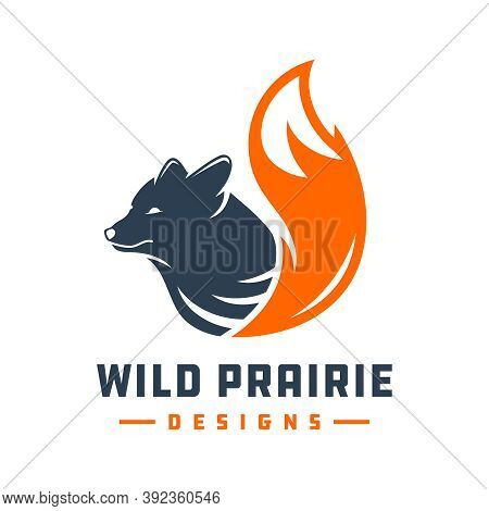 Wild Fox Animal Logo Design Or Your Brand