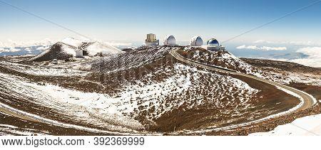 The Hawaii Big Island Mauna Kea Volcano Observatory