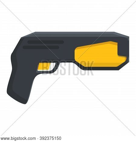 Taser Icon. Cartoon Of Taser Vector Icon For Web Design Isolated On White Background
